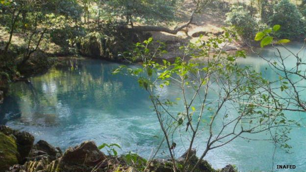 Nacimiento del río Atoyac en Veracruz, México