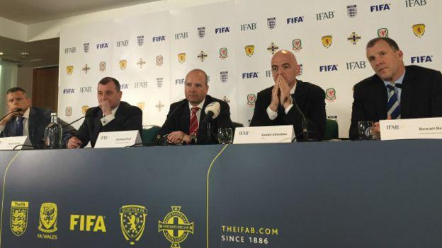 Los miembros del IFAB