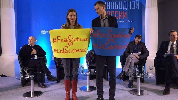 Форум российской оппозиции в Вильнюсе