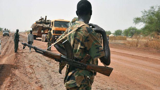 El ejército de Sudán del Sur está sospechado de cometer crímenes de guerra.