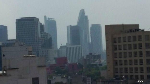 Ciudad de México en contingencia ambiental