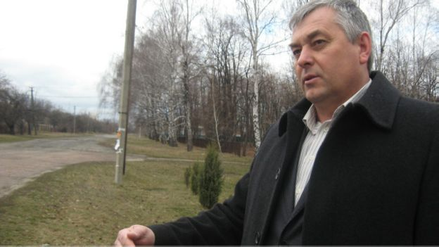 Сільський голова Тіньок Віктор Харченко на переселенців не нарікає