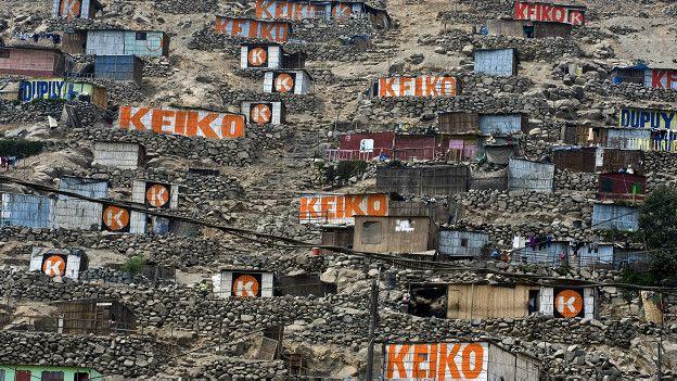 Apoyo a Keiko Fujimori
