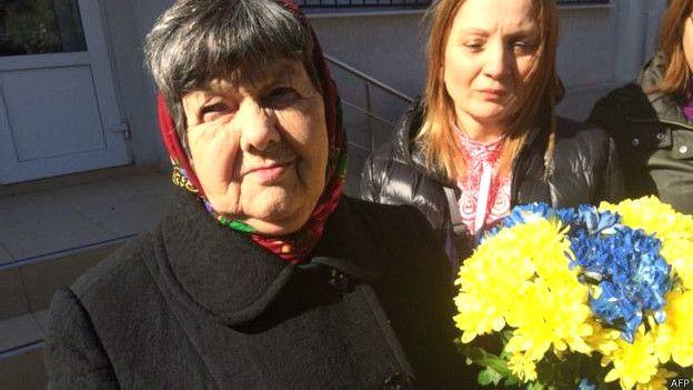 Madre de Nadia Savchenko