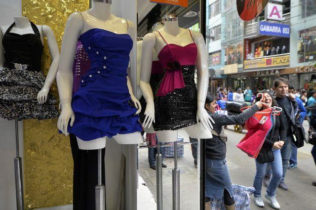 Gamarra, mercado de ropa de Lima