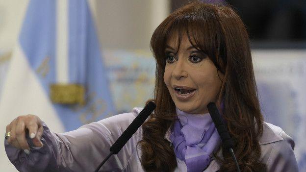 La expresidenta Cristina Fernández