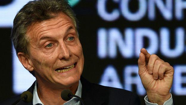 Un fiscal impulsa una investigación contra el presidente argentino Mauricio Macri.