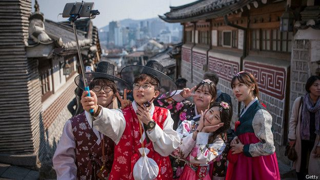 Jovenes coreanos