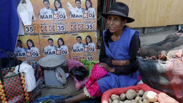 Vendedora de patatas