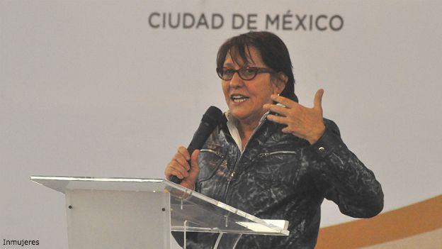Teresa Incháustegui, directora de Inmujeres