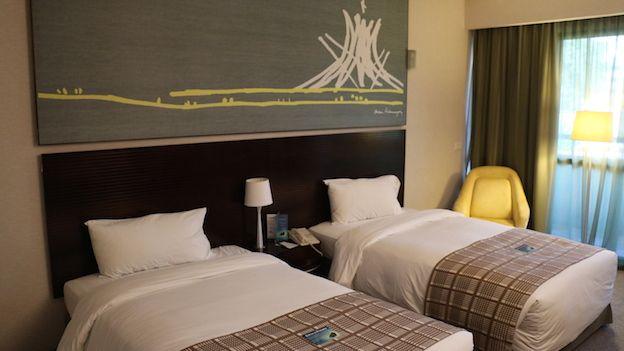Habitación del hotel Royal Tulip en Brasilia.