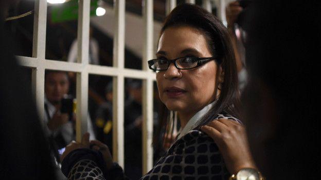 Roxana Baldetti detenida