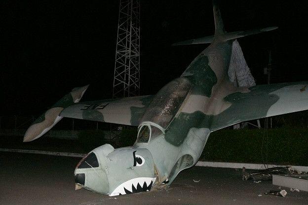 Avión caído