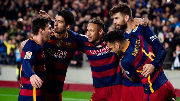 Equipo del Barcelona