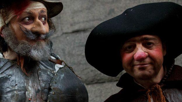 Interpretación de Don Quijote y Sancho Panza