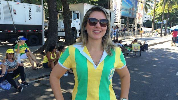 Abogada brasileña Renata Pinto