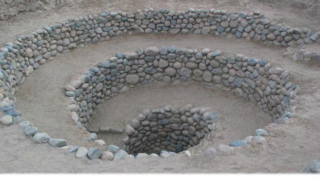 Los puquios tenían forma de embudo en espiral y estaban distribuidos en toda la región.