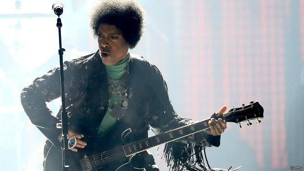 Prince grabó más de 30 álbumes musicales.