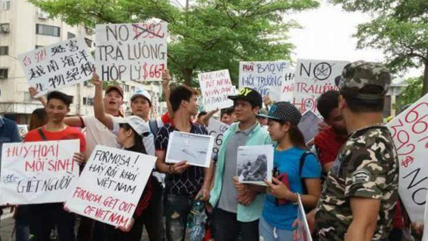 Kết quả hình ảnh cho Formosa biểu tình