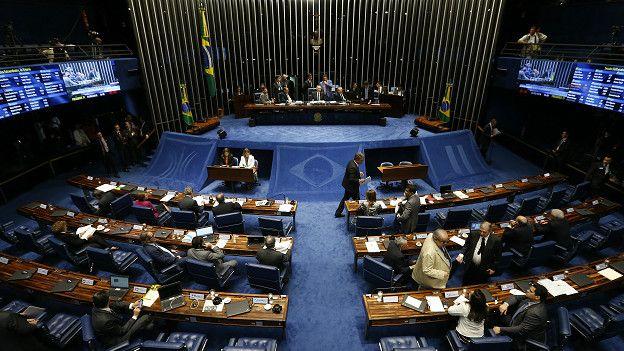 La sede del Senado de Brasil