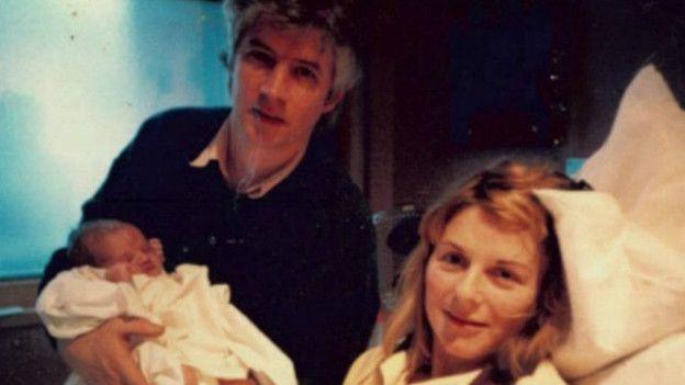 James y sus padres