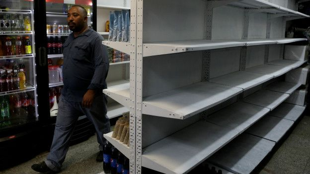La escasez de alimentos es la principal causa de las protestas en Venezuela.