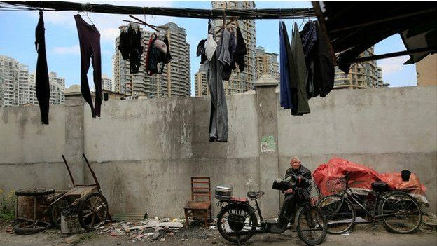 Zona pobre de Shanghái
