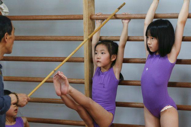 La Escuela de Atletismo Amateur para Jóvenes de Shanghái Yangpu es uno de los centros de China que prepara a los alumnos para competiciones olímpicas.