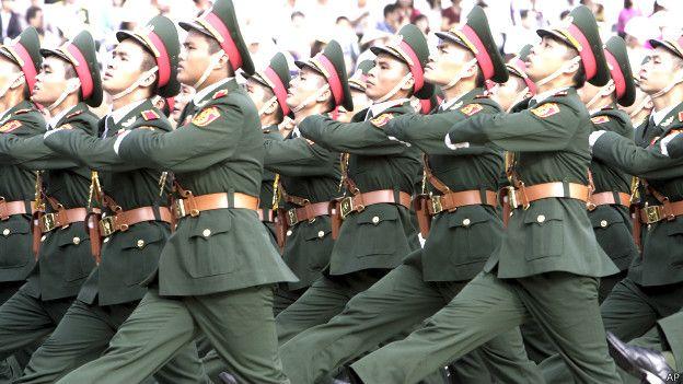 Soldados vietnamistas