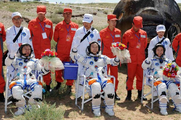 La carrera espacial es una prioridad para China.