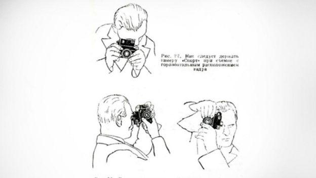 Instrucciones de la cámara GOMZ