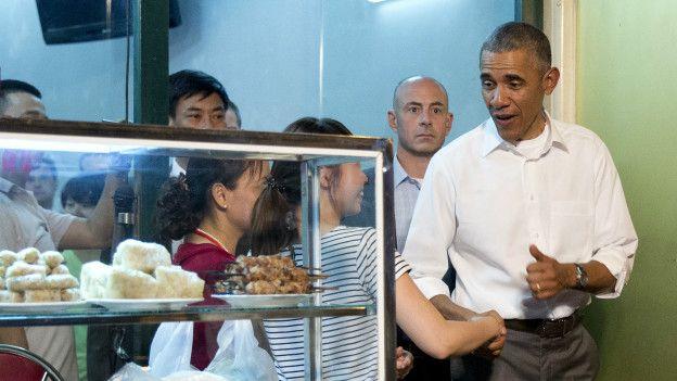 Obama en Hanoi