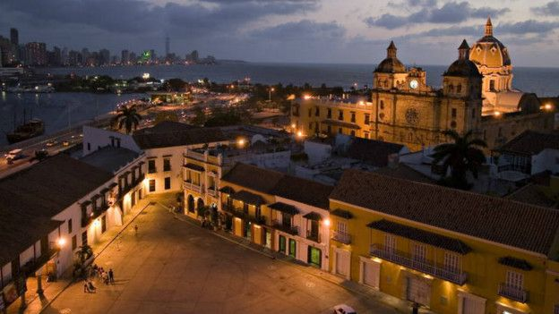 La aquitectura de Cartagena de Indias está en riesgo por el cambio climático.