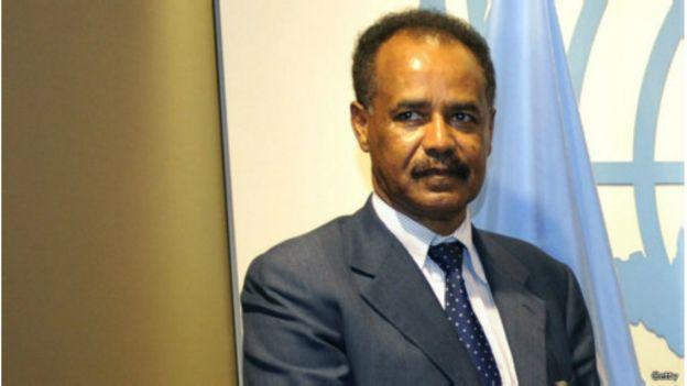 Le président érythréen Isaias Afwerki