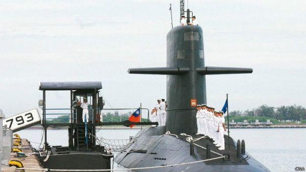 台灣的荷蘭造旗魚級潛艇