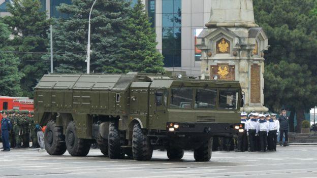 Российский оперативно-тактический комплекс