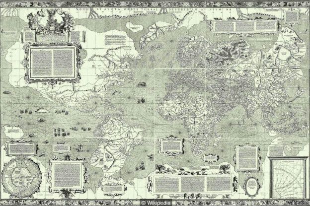 नक़्शे में उत्तर ऊपर