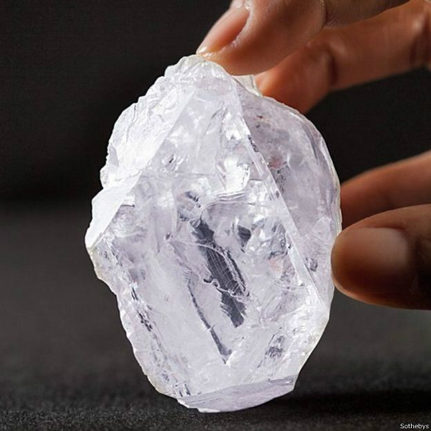 Vente du plus gros diamant du monde