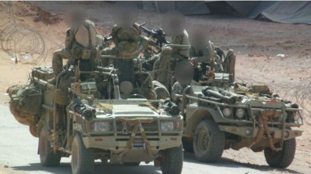 Вweb-сети интернет появились первые фотографии английского спецназа вСирии