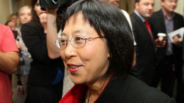 黄徐毓芳出席国家党会议(资料图片)