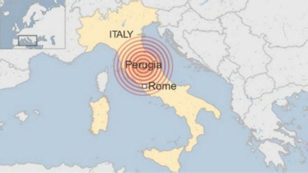 160824030949 italy earthquake 640x360 bbc nocredit Video Amatir..!! Gempa 6.2 Skala Richter Landa Italia