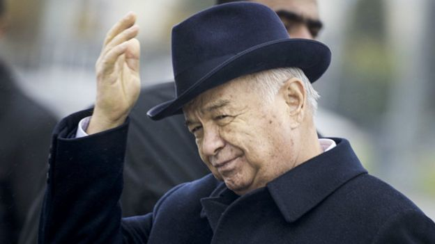أوزبكستان تدفن زعيمها إسلام كريموف في مسقط رأسه coobra.net