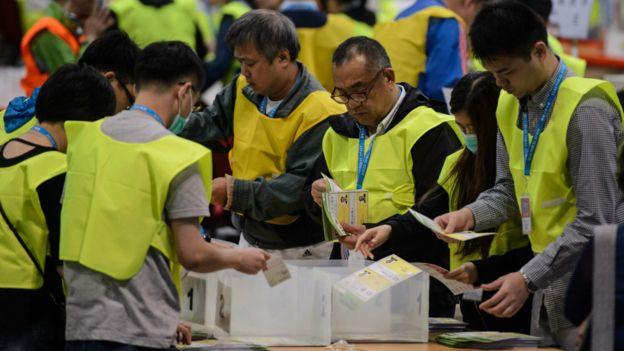 點票工作仍在進行,正式選舉結果尚未宣佈。