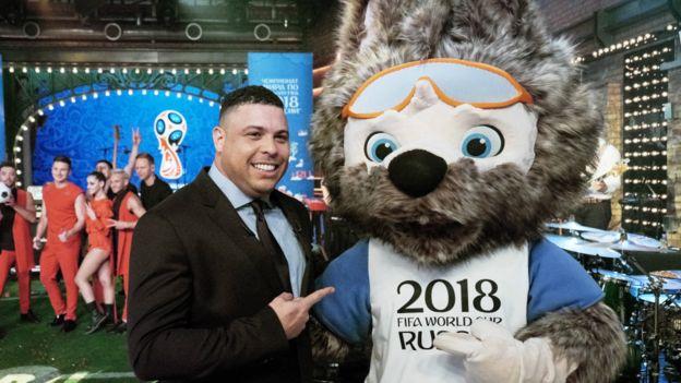 俄罗斯投票选出世界杯吉祥物