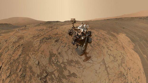 Робот Curiosity