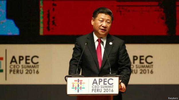 習近平出席2016亞太經合峰會