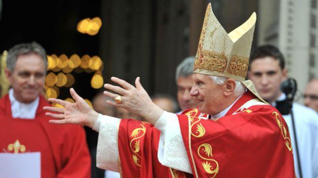 Beneedicto XVI de visita en Reino Unido