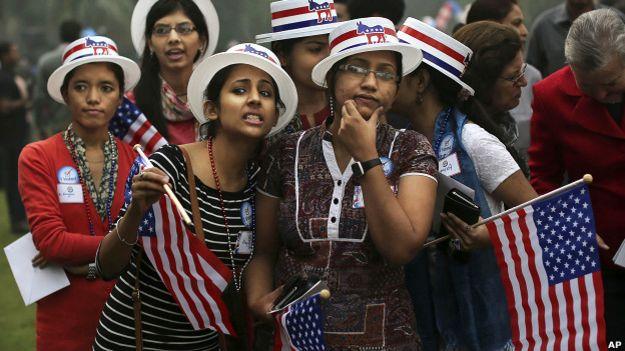 अमरीका, ओबामा, भारत