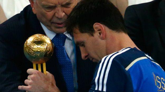 Messi y el Balón de Oro