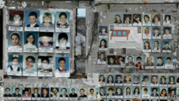 Фотографии школьников Беслана, 31 августа 2005 года